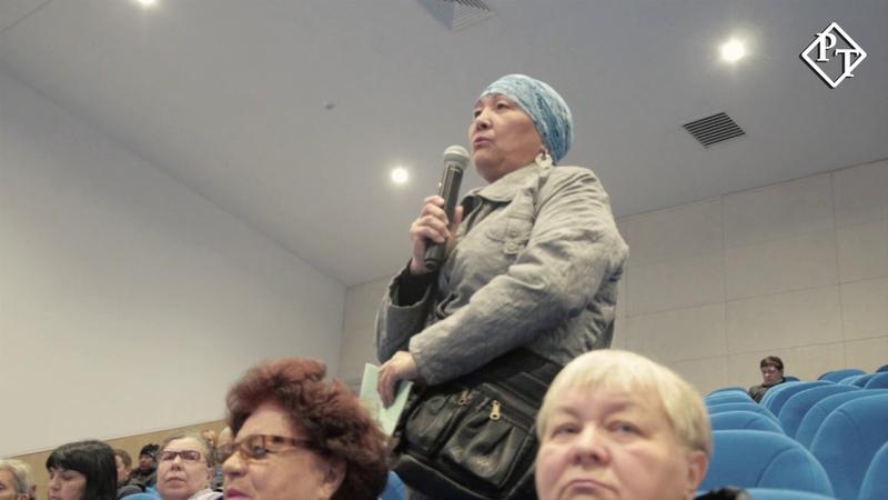 Встреча Акима города. Петропавловск.