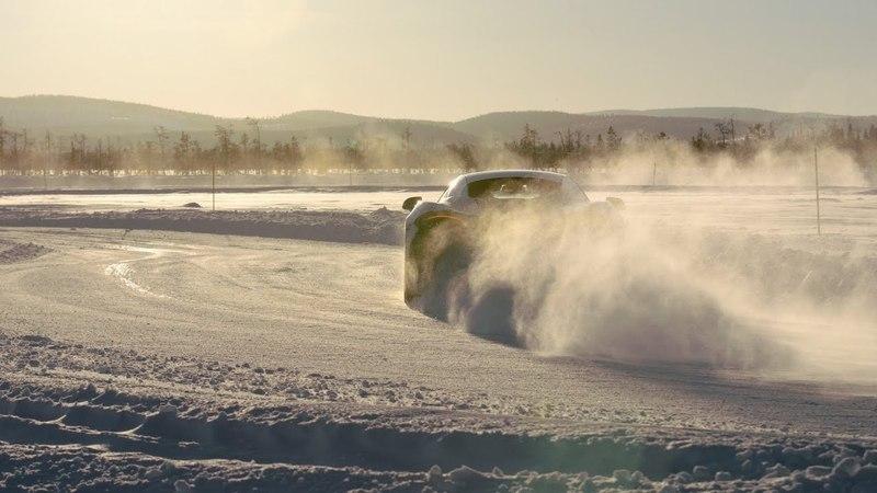 Snow drift: driving McLarens deep in the Arctic Circle