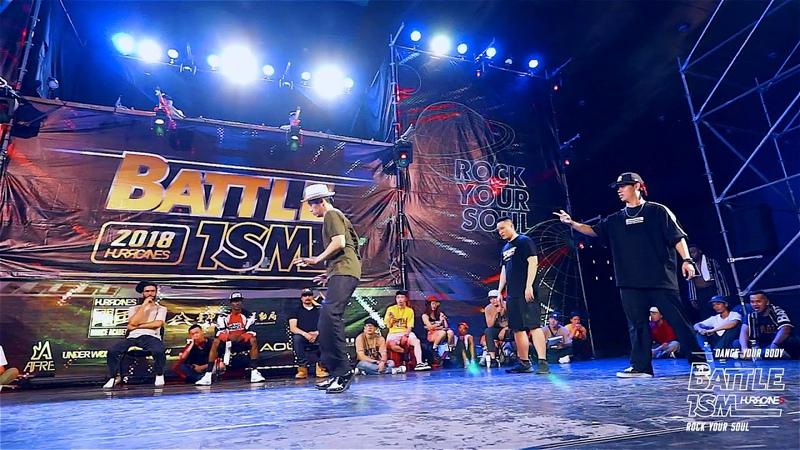 BATTLE ISM Taiwan 2018 - The Aswer Crew VS Flexion BoogZ / Popping Team Battle TOP8