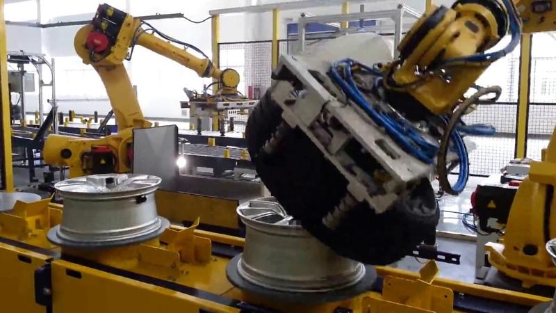 BEPCO - Tire Wheel Robot Line
