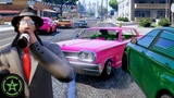 CAR FIGHTS AND STROBE LIGHTS - GTA V Offense Defense Let's Play