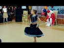 Little Russian Girl dancing on Indian song Aaja Nachle
