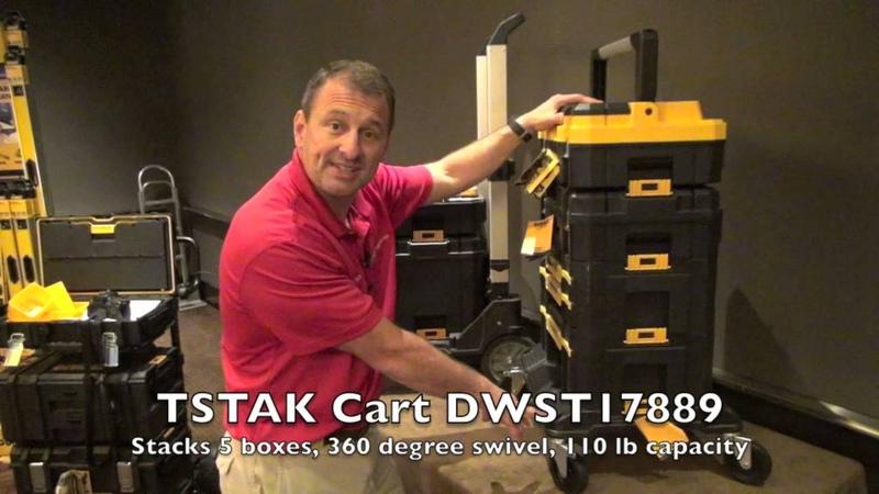 DEWALT TSTAK Storage