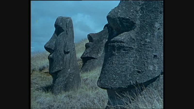34-1 Культурное наследие острова Пасхи (Одиссея Жака Кусто HD 1978г)
