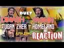 DIMASH duet YASMIN   Tugan zher (Homeland)   REACTION by Zeus