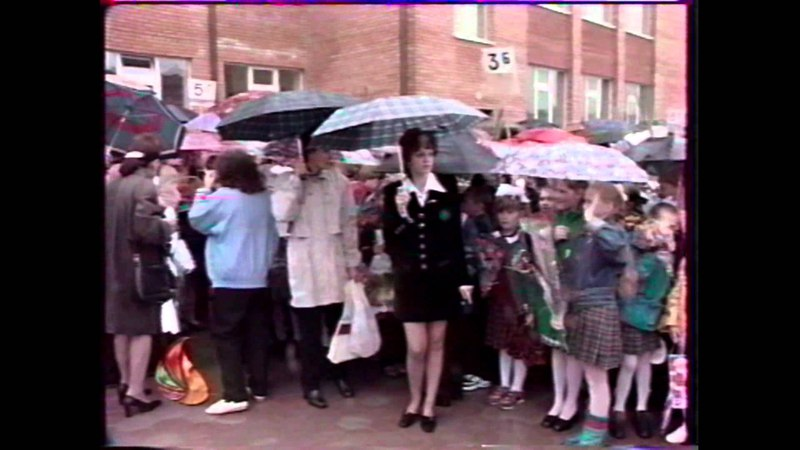 Открытие Домодедовской гимназии №5 - 1998 год