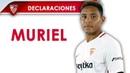 Muriel: El partido nos deja sensaciones positivas, sobre todo por la solidez defensiva