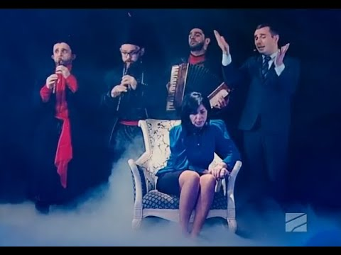 ბიძინას და სალომეს სიმღერა ვანოს შოუში 2 ნო4