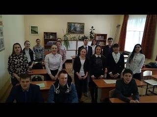 За Эльнару Зиннурову из родной школы!