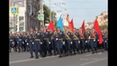 Курсанты Рязанского десантного училища Шел солдат, 9 мая 2018