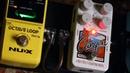 Гитара и педали эффектов Canyon Delay Looper Chorus CE 5 NUX octave loop