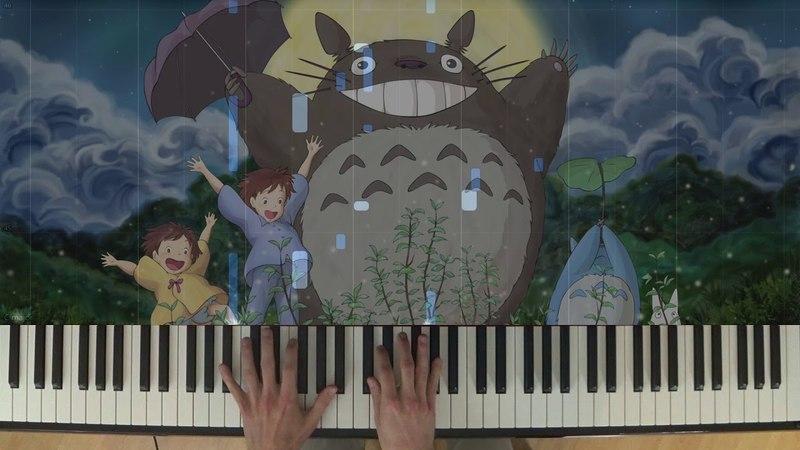 My Neighbor Totoro - Path of the Wind - Piano Version