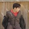 커스텀멜로우 customellow в Instagram 헨리 x 커스텀멜로우 goose liner long jumper CWUAW18771KHX velour round knit CWWAW18863ORX two tuck long wide pant