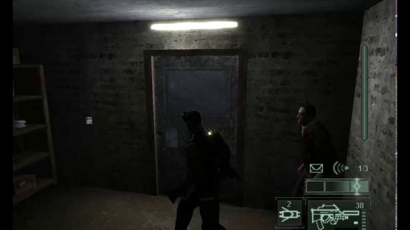 Tom Clancy`s Splinter Cell: Pandora Tomorrow прохождение. Установка жучка.