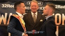 JOSH WARRINGTON V CARL FRAMPTON : HEAD TO HEAD - READY AND FOCUSED AHEAD OF IBF TITLE CLASH!