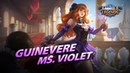 New Hero Ms Violet Guinevere Mobile Legends Bang Bang