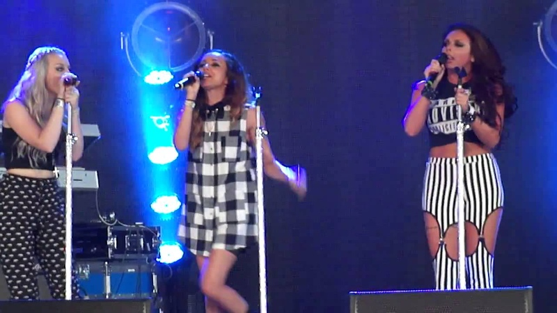 Little Mix Change Your Life live at Wireless Festival, London, 12 07 2013