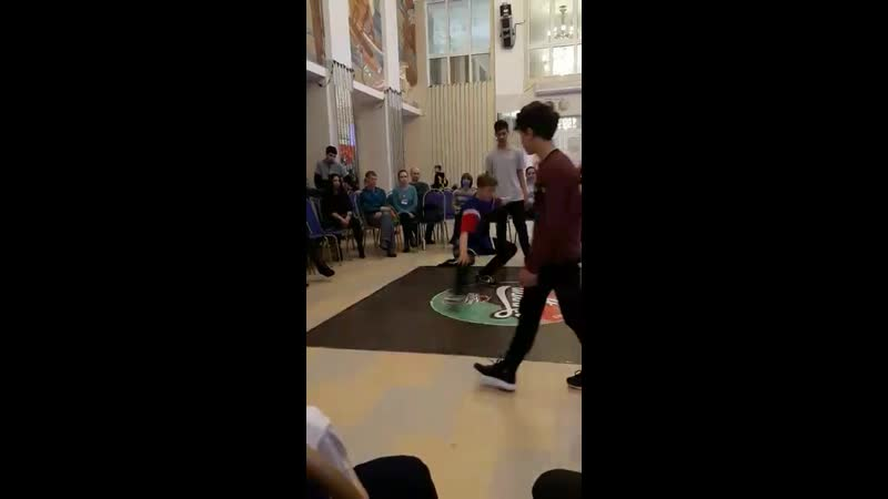 «ШАПКА-4» bboy Big Bro VS bboy HIT VS bboy Kima