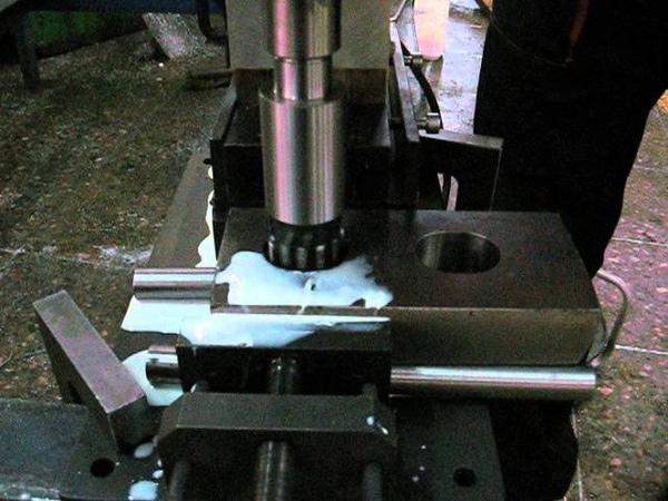Технология развертывания отверстий магнитным сверлильным станком