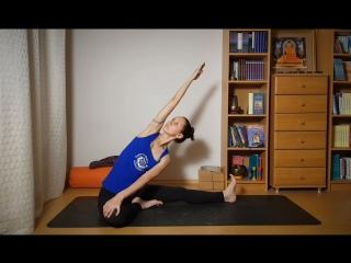 Йога для начинающих. Комплекс для раскрепощения тела перед медитацией.