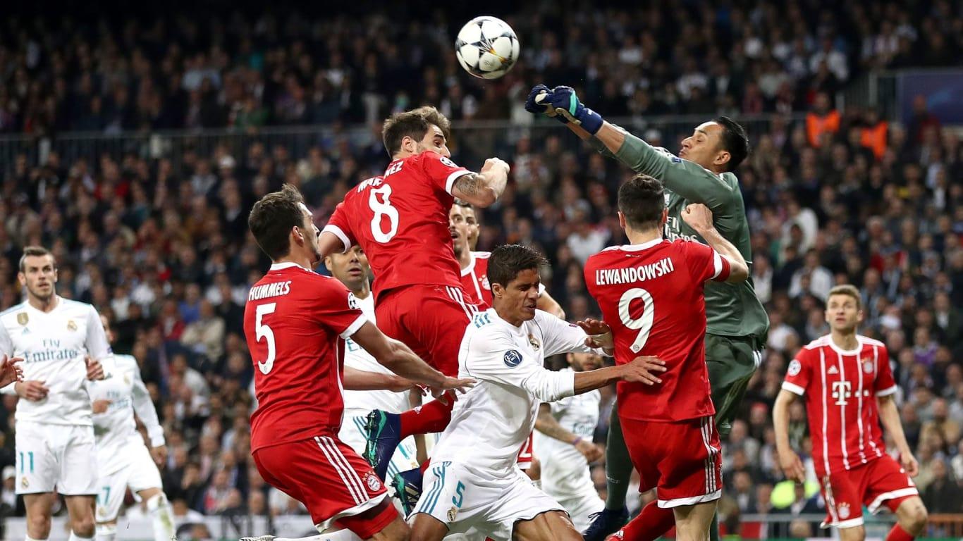 217. Real Madrid - Bayern München 2:2