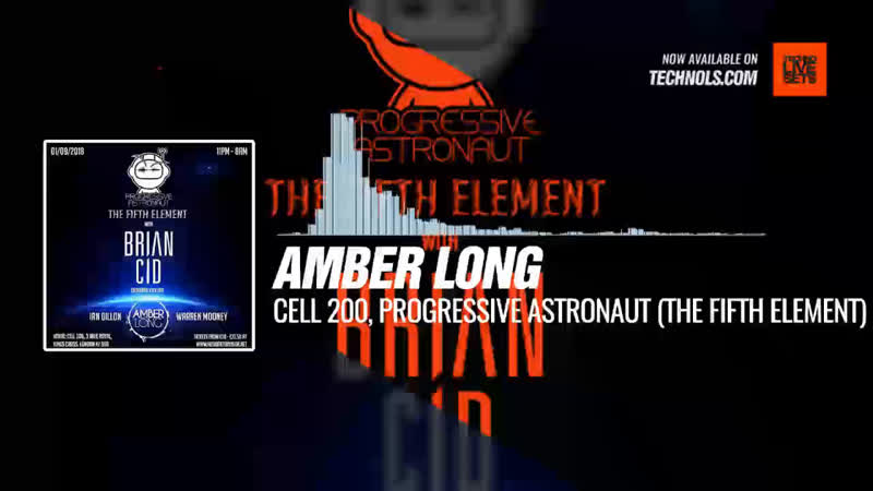 @amberlongsays - Cell 200, Progressive Astronaut (The Fifth Element) Periscope Techno music