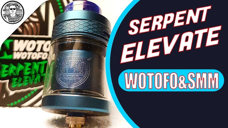 Serpent Elevate RTA by Wotofo Coil Cotton/ suck my mod