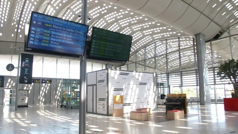 La gare Sud de France près de Montpellier n'accueille que 8 TGV par jour et suscite la polémique