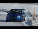 Subaru Impreza WRX STI snow drift