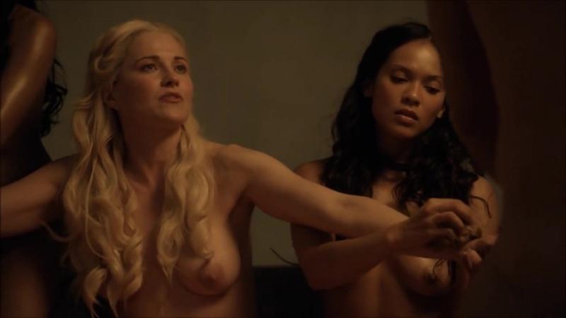 Подборка секс сцен из сериала Спартак первый сезон