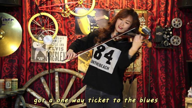 One way Ticket Electric violinist Jo A Ram