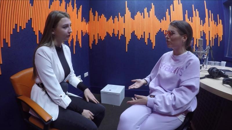 ЛЮСЯ ЧЕБОТИНА на открытии студии Классного Радио
