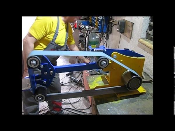 Szlifierka tasmowa wlasnej roboty
