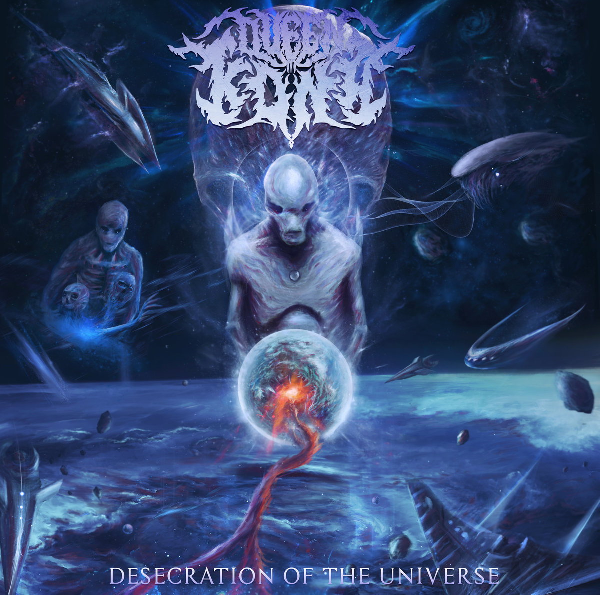 Queen Kona - Desecration Of The Universe [EP] (2018)