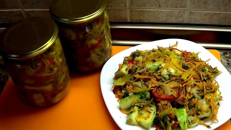 Самые вкусные кабачки по корейски. Приготовьте, вам точно понравятся! (1)