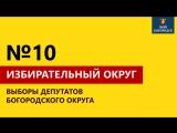 Обзор кандидатов. Избирательный округ №10