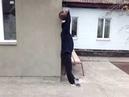Жим гири 32 кг у стены (Для соревнований в группе Фанаты Силовых Упражнений).