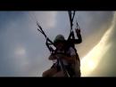 Немного экстрима в небе над г Гагра Абхазия Полёты на параплане с инструктором с горы Мамдзышка