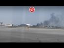 Самолет из Антальи упал на правое крыло при посадке в аэропорту Киева