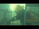 На ощупь под водой кадры конкурса военных водолазов «Глубина»