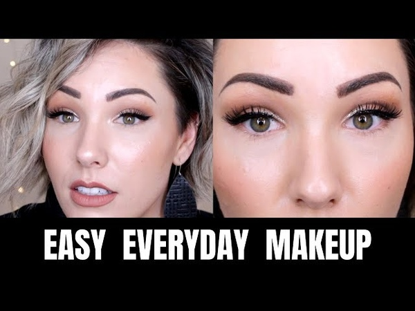 EASY EVERYDAY MAKEUP LOOK Mostly Drugstore