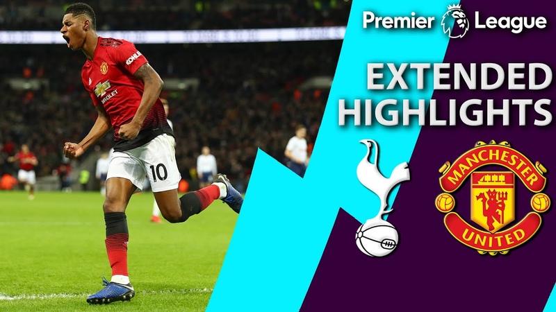 Tottenham v Man United PREMIER LEAGUE EXTENDED HIGHLIGHTS 1 13 19 NBC Sports