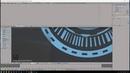 Scifi Holographic HUD Blender Tutorial Part 02