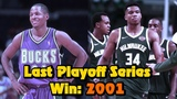 How The Milwaukee Bucks Haven't Won A Playoff Series Since 2001