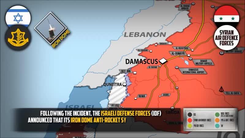 Συρία 21 1 2019 Ισραηλινοί βομβαρδισμοί: Τελευταίο Καμπανάκι για τον Πούτιν;