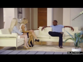 Karla kush and naomi woods with black guy