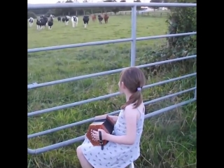 The_Power_of_Music___Little_Girl_Serenades_Herd_Of_Cows___Music_is_Love_(MosCatalogue.net)