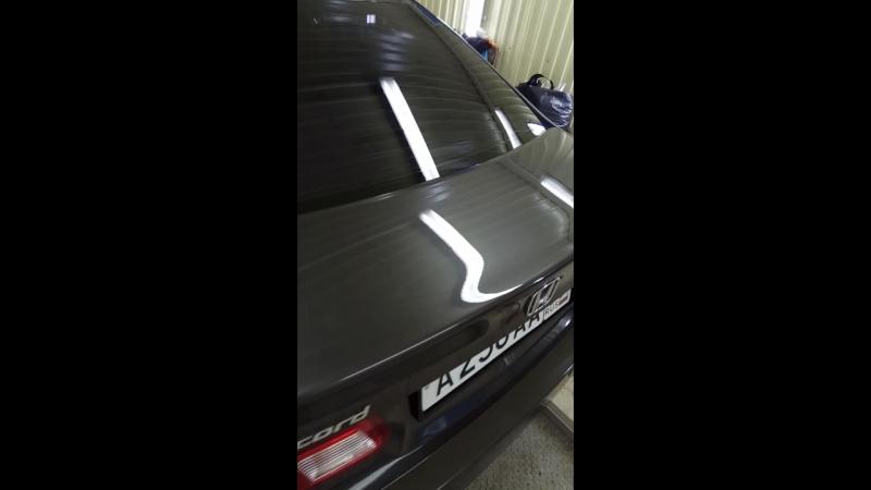 Хонда Аккорд в жидком стекле!!