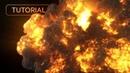 Explosion Workflows VFX Tutorial Phoenix FD 3Ds Max