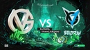 VG vs VGJ.S, The International 2018, game 1